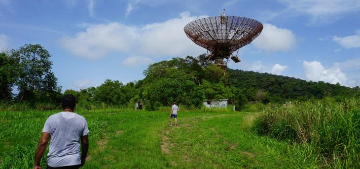 Cold War radar base Trinidad