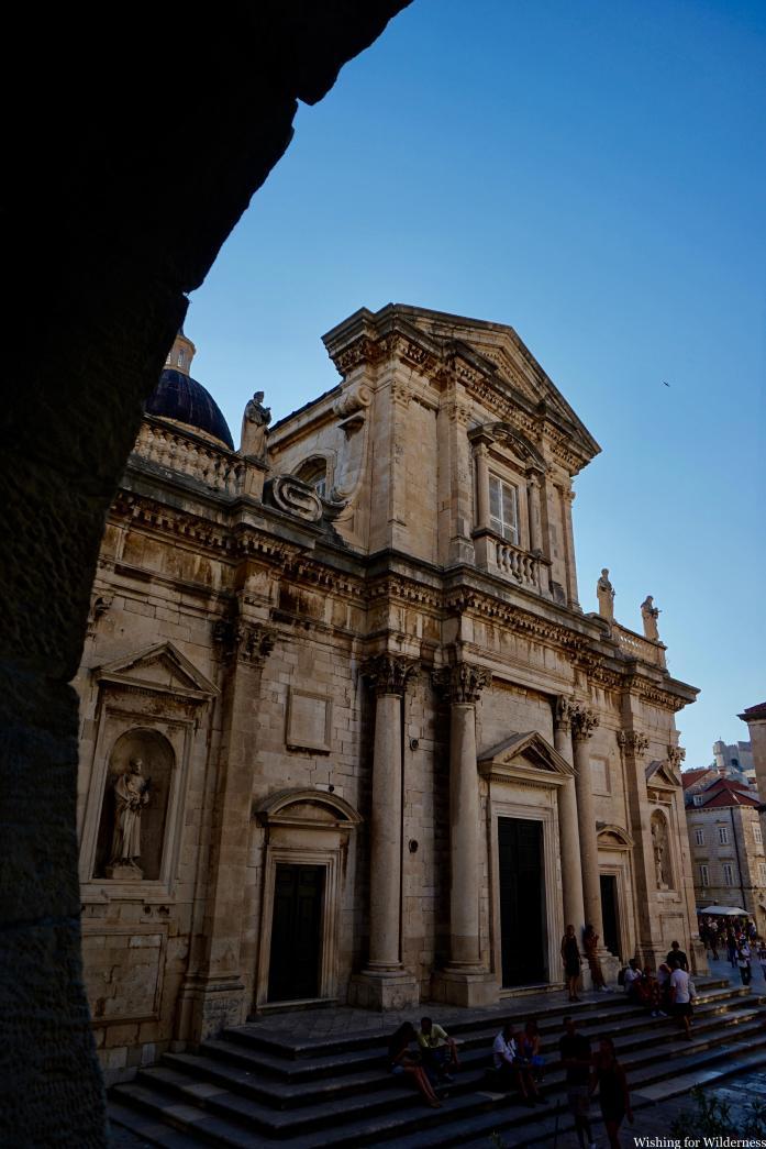 Old building in Dubrovnik