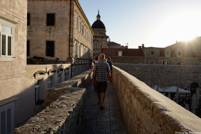 Old walls of Dubrovnik Old City