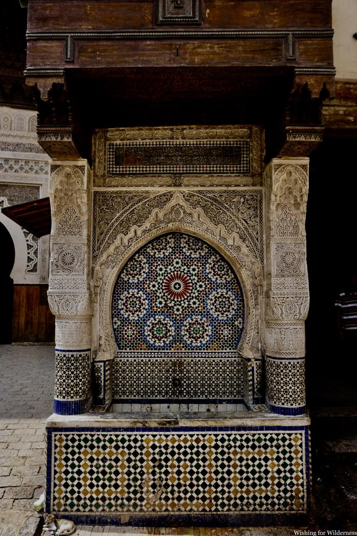 Tiled design Fes medina