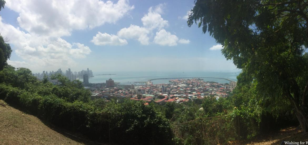 View from Ancon Hill Panama City