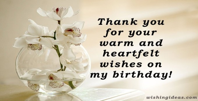 Thank You All for the Birthday Wishes images