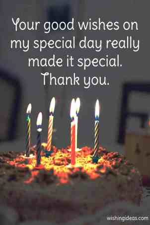 Thank You Birthday Wishes Images