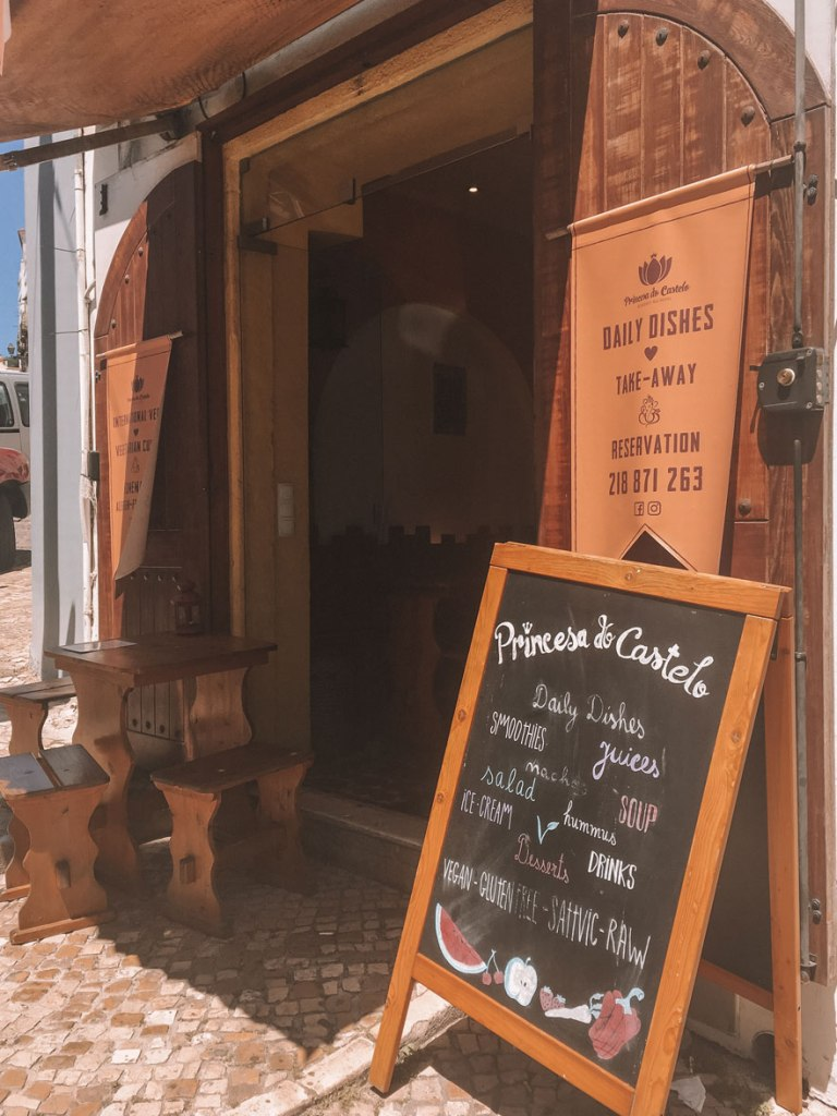 Princesa do Castelo Lisbon best vegan restaurants