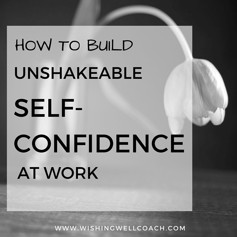 Regain self confidence