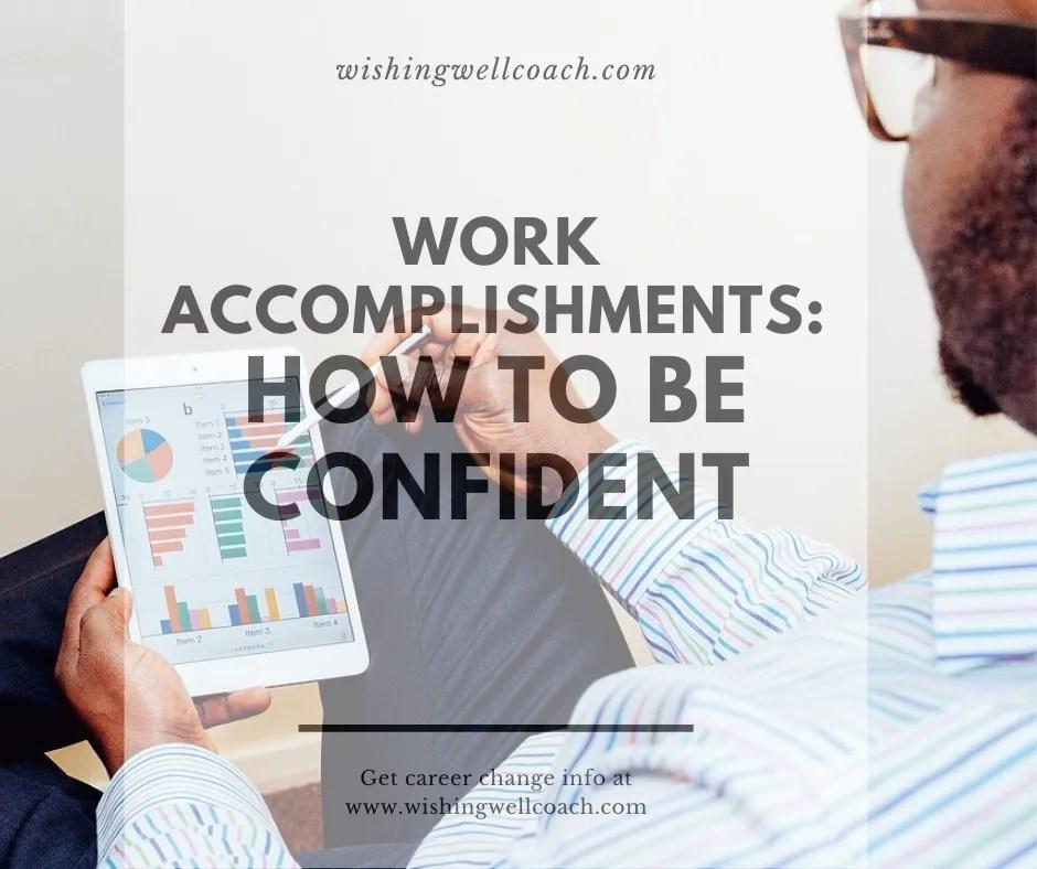 work accomplishments