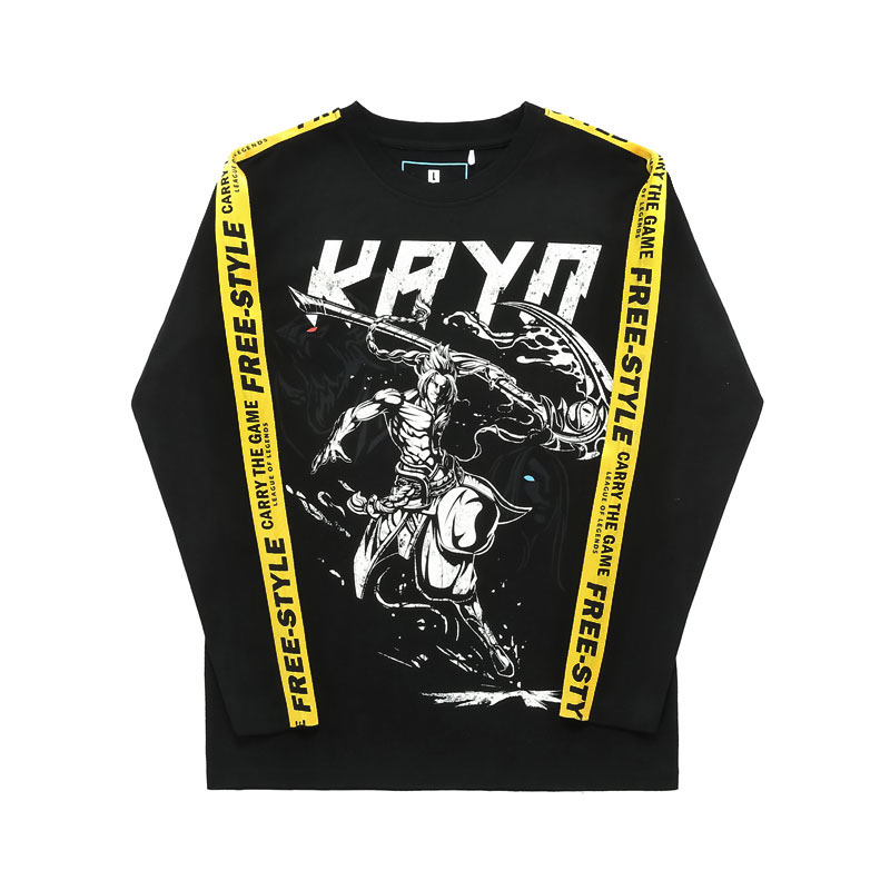 Quality LOL Kayn T Shirt League Of Legends Long Sleeve