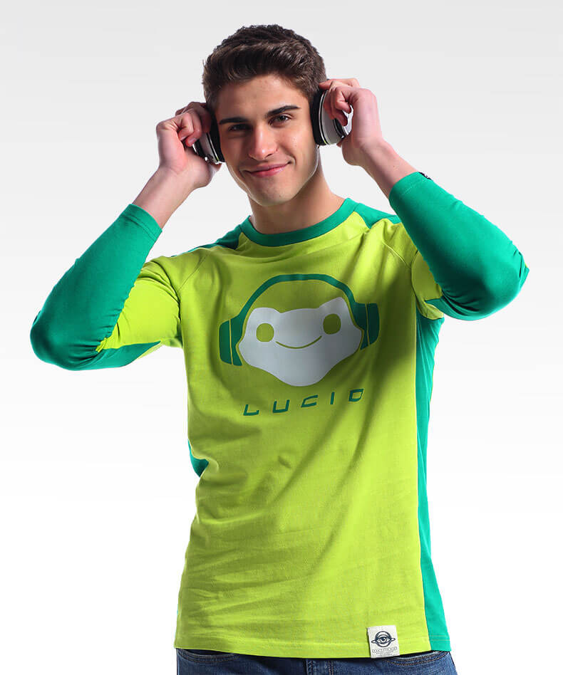 Overwatch Lucio Long Sleeve Sports Tshirt For Mens Wishining