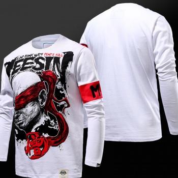 LOL Ekko Hoodies Black 3D Sweatshirt For Mens Wishining