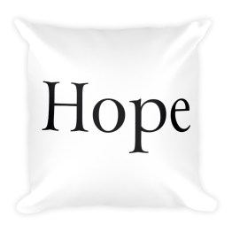 Hope Square Pillow