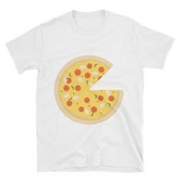 Pizza Short-Sleeve Unisex T-Shirt