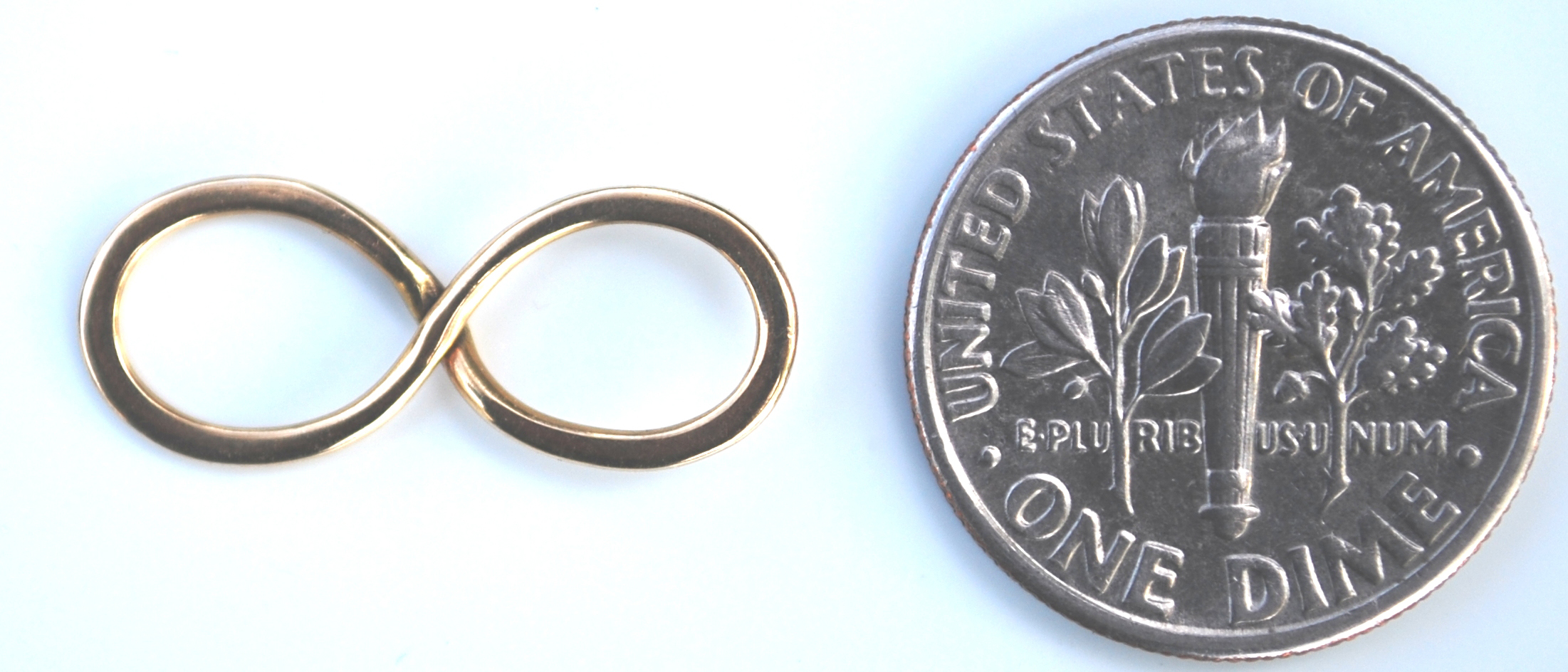 infinity with coin