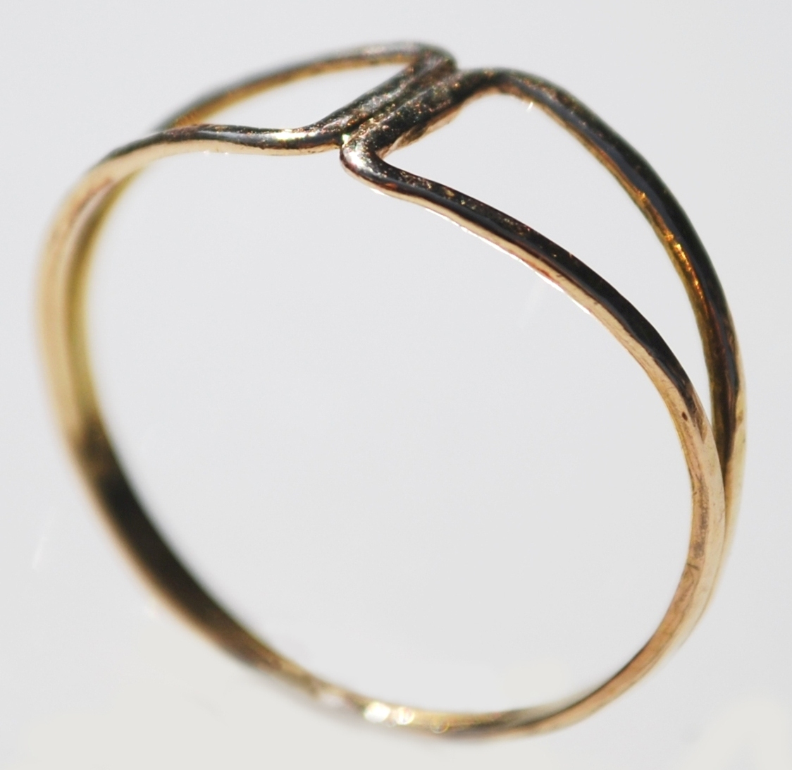 open triangles ring re-F