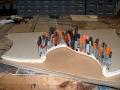 Gluing upholstery foam