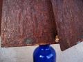 Rusty Lamp Shade Detail