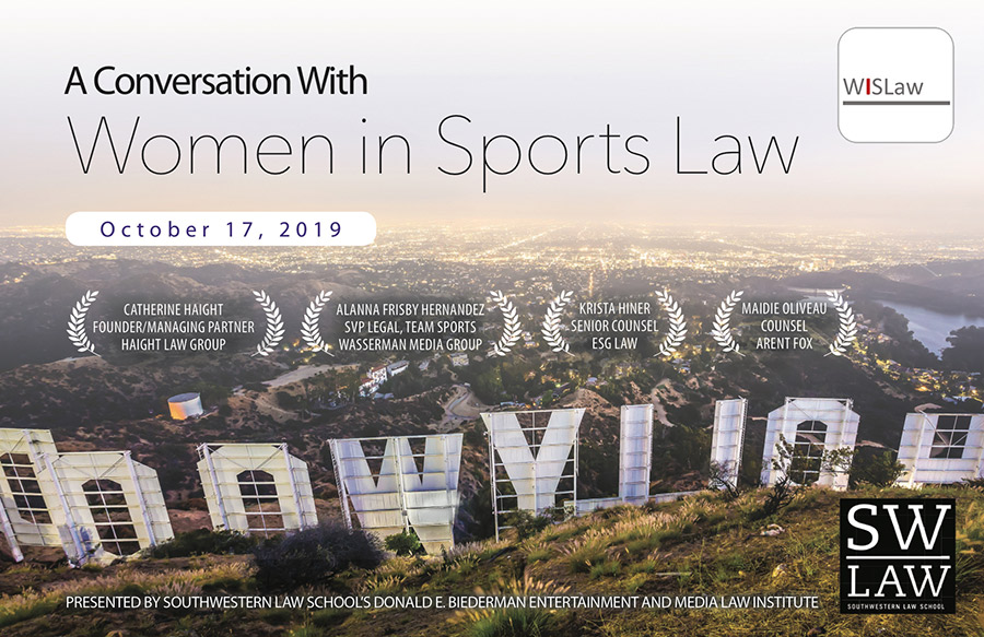 WISLaw & Southwestern Law School event in Los Angeles (CA) on October 17, 2019