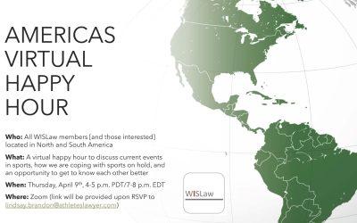 Americas Virtual Happy Hour, 9 April 2020