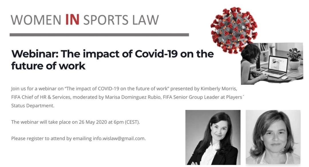 Webinar on the impact of Covid-19 on the future of work - 26 May 2020