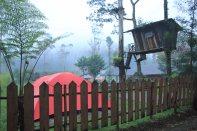 Tenda dan Rumah Pohon