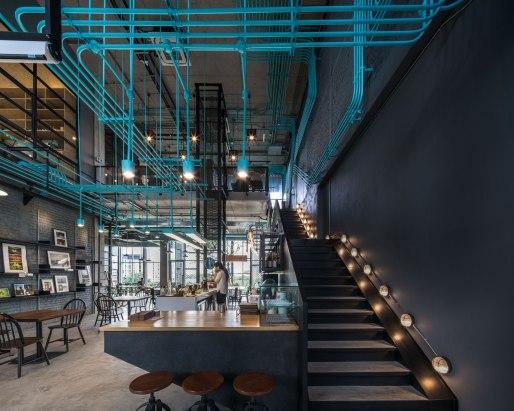 Hubbato : Co-working space. Architect » Supermachine Studio