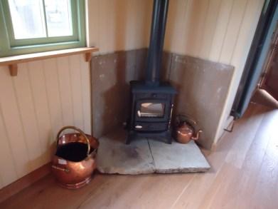 Inside Log Burner