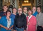 (v.l.n.r.): Emilio Paolini, Daniela Sattler, René Diesterhöft, Michael Althoff, Maik Bischoff, Marion Thoma, Jürgen Kessling, Marlo Probst
