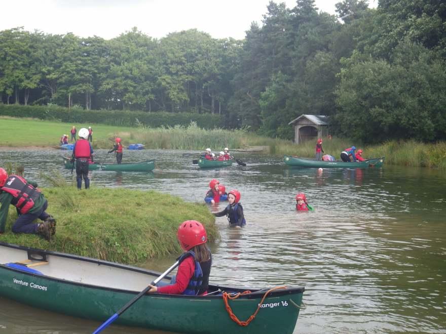 canoe pond