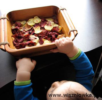 domowe chipsy z buraka i ziemniaka