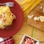 Carbonara w pięciu smakach, przystanek: WŁOCHY – Spaghetti Carbonara