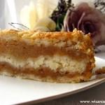 Szarlotka sypana, czyli najprostsze ciasto pod słońcem :)