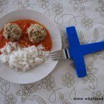 Pulpeciki z dorsza w sosie paprykowo-pomidorowym -> dzieci to lubią!