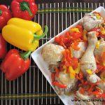 Kurczak z papryką w rzymskim stylu, czyli Pollo alla romana