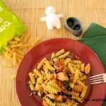 """""""Miłosne gniazdka"""" – Spaghetti z pietruszkowo-koperkowym pesto"""