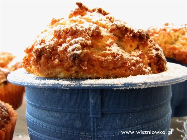 rabarbarowe muffinki