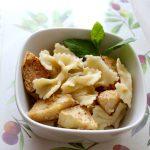 Pyszne danie na upał: Domowy makaron z pieczonymi jabłkami