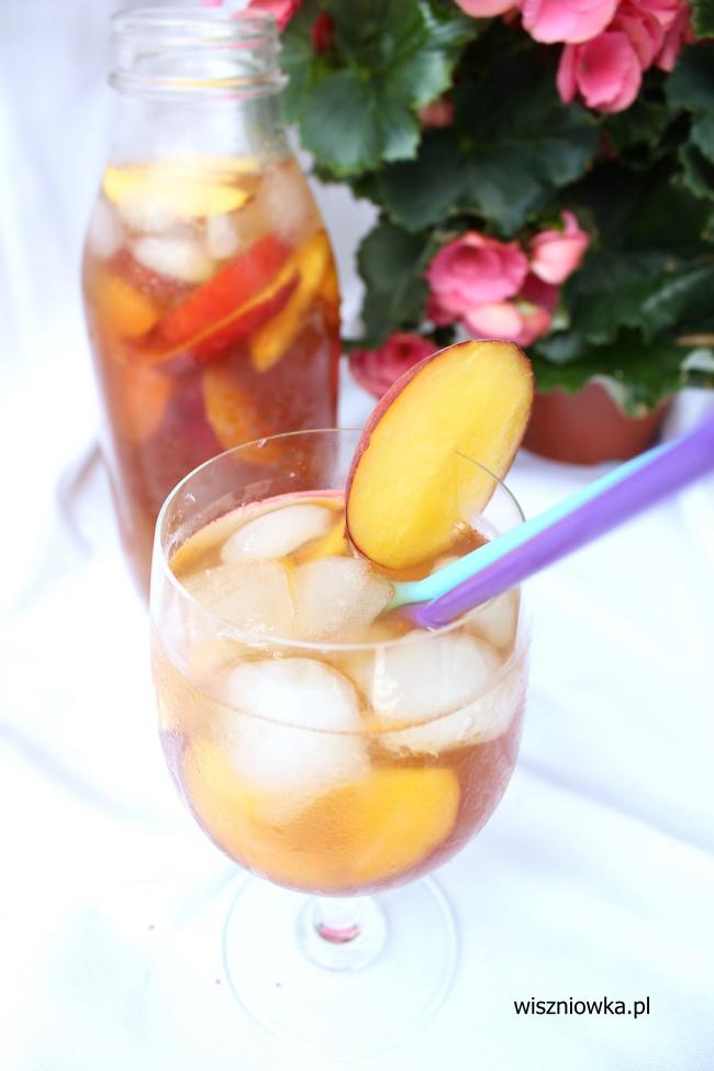 mrożona herbata - letnie orzeźwienie!