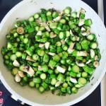 Prosty przepis na zielone szparagi: A'la risotto szparagowo-pieczarkowe