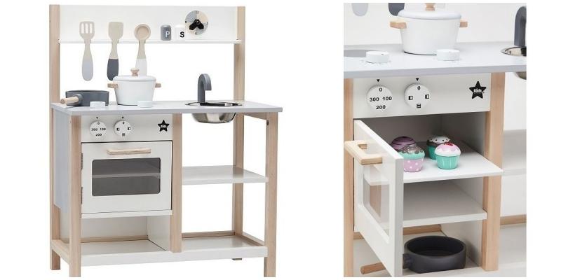 Kuchnia drewniana biała, Kids Concept