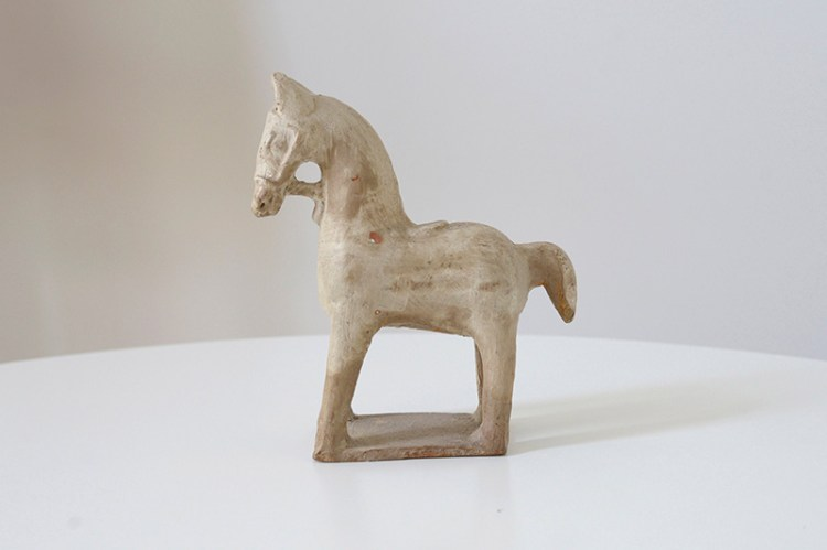 Vintage Horse Sculpture Wit & Delight