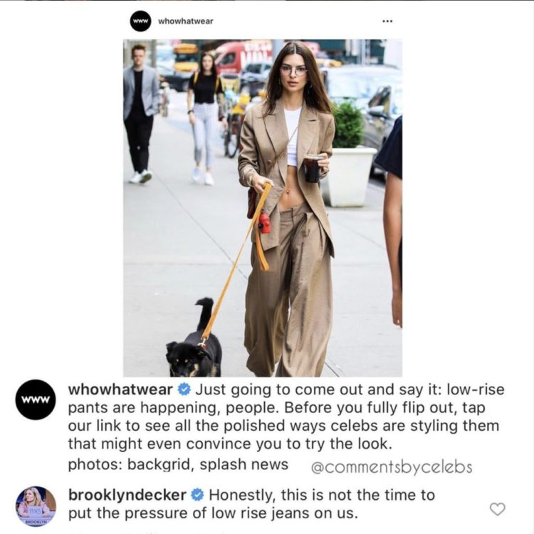 Comments by Celebs Instagram