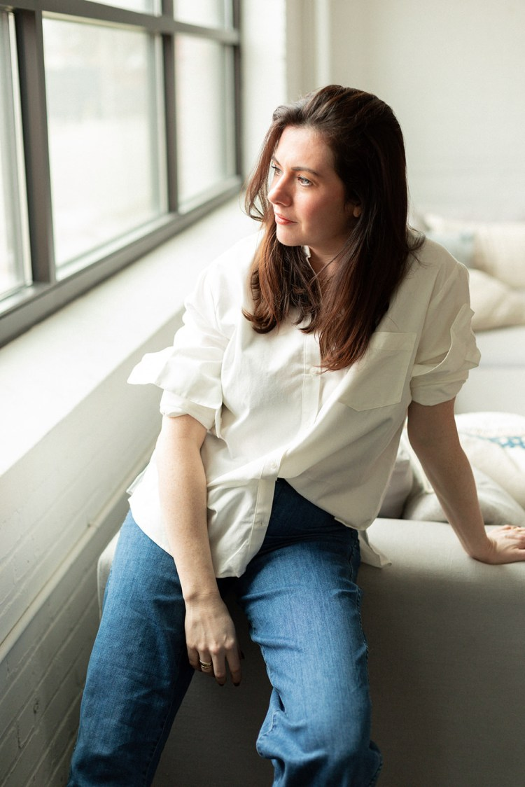 Kate Arends Wit & Delight White Top and Jeans