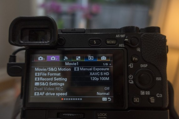 How to Shoot Slow Motion Video on the Sony a6500 - Wit and Folly