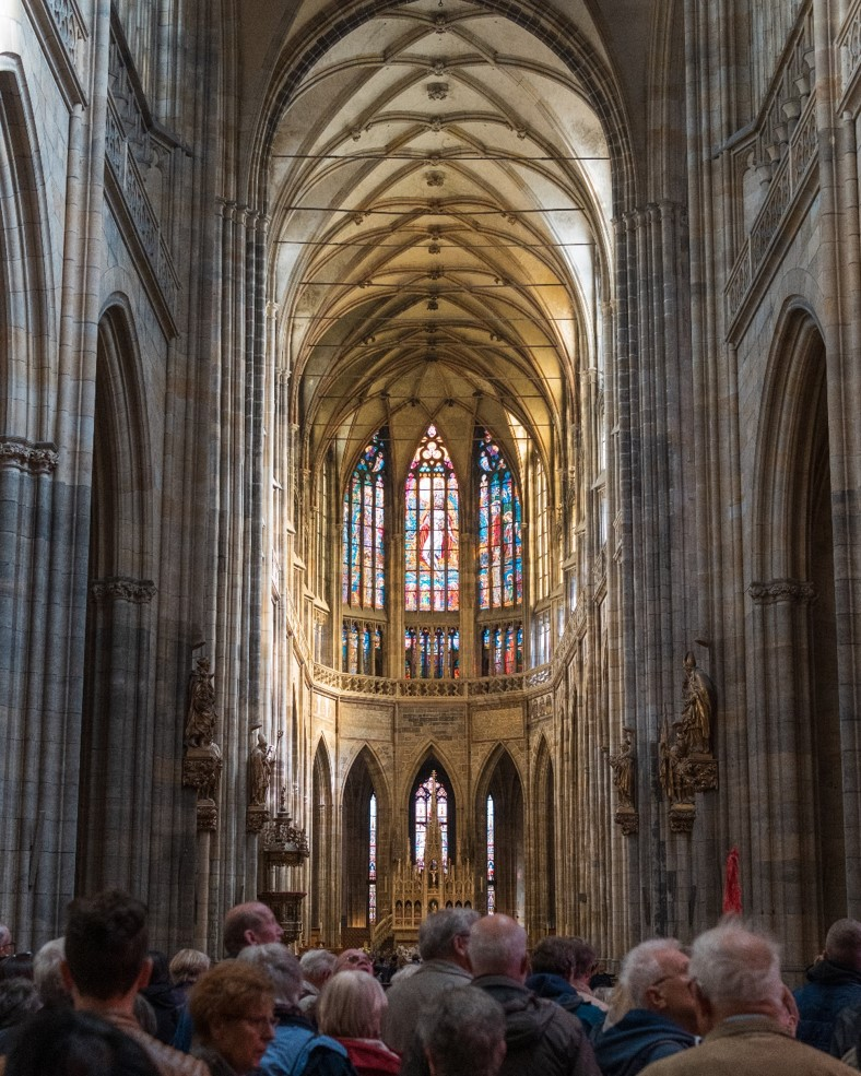 Inside St. Vitus Cathedral 1 - witandfolly.co