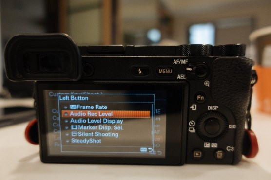 Custom Key Shoot Menu on Sony a6500 Dialog Box - sony a6500 audio settings - witandfolly.co