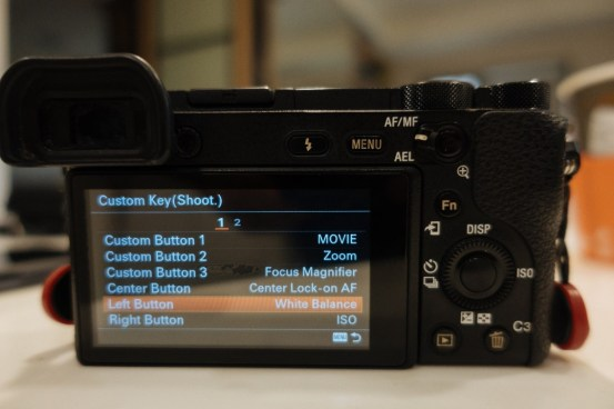 Custom Key Shoot Menu on Sony a6500 - sony a6500 audio settings - witandfolly.co