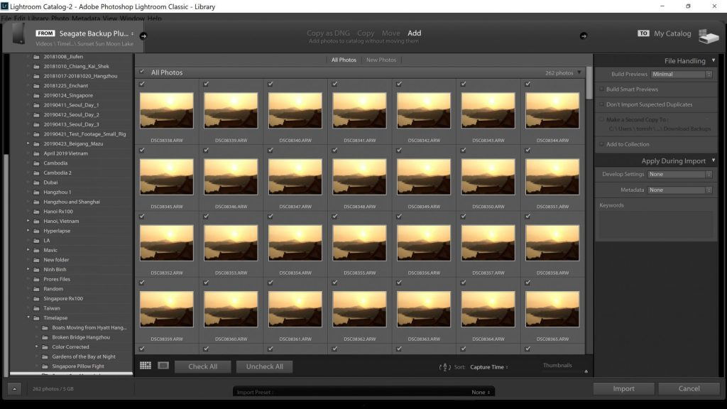 Import to Adobe Lightroom - witandfolly.co