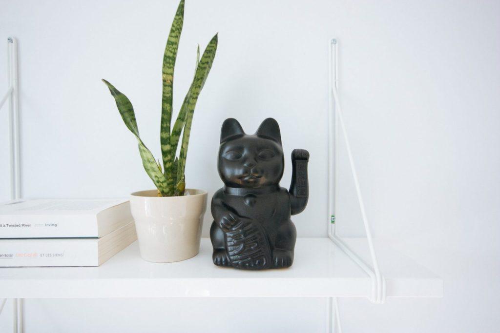 Black Manecki Cat - witandfolly.co