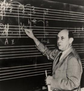 Schoenberg wore good underpants