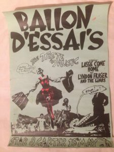Ballon D'Essai at Star and Garter