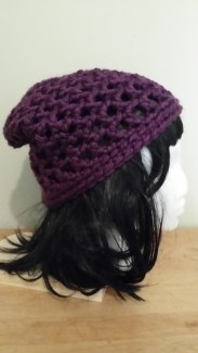 Waffle Stitch Slouch Hat